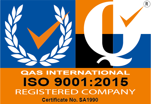 Click here to view our ISO 9001:2015 certificate